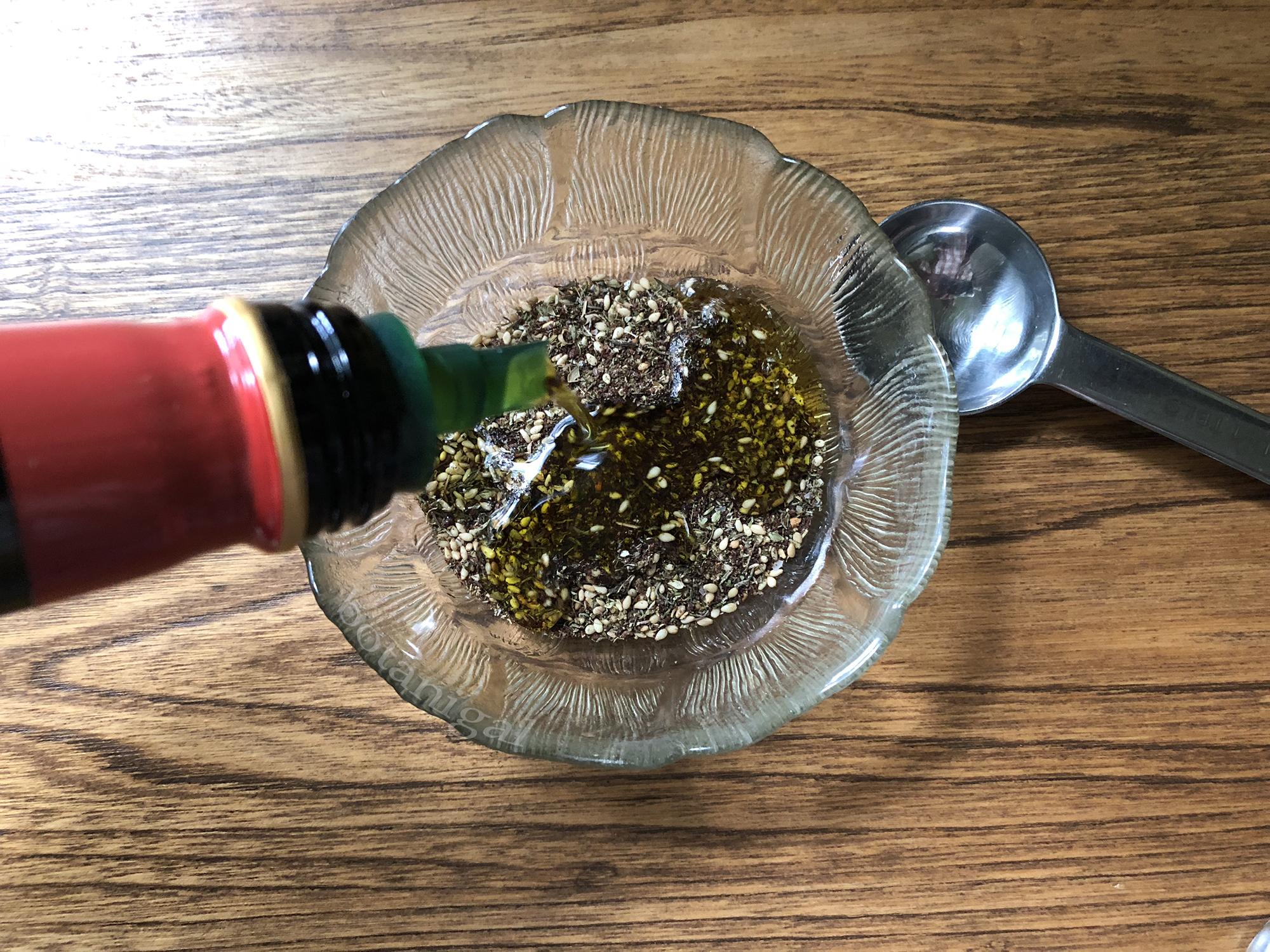 R.K. Add Olive oil to Zaatar powder 011 wtm.jpg